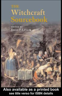 The witchcraft sourcebook by